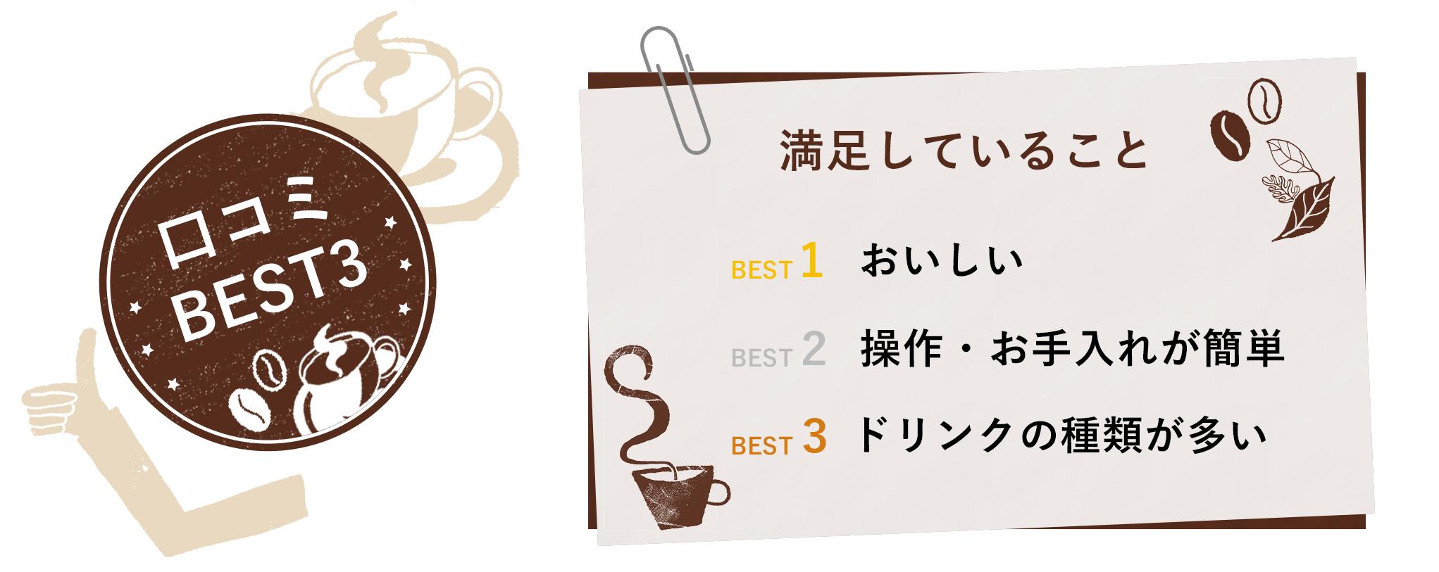 口コミBEST3