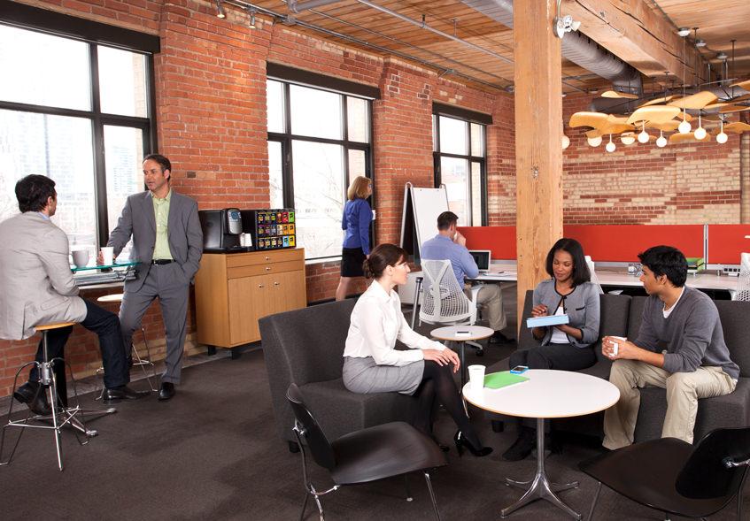 社内カフェスペースをオフィスに設置するメリットとは